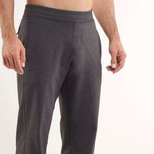 Lululemon Kung Fu Pant (Regular) Heathered Black L